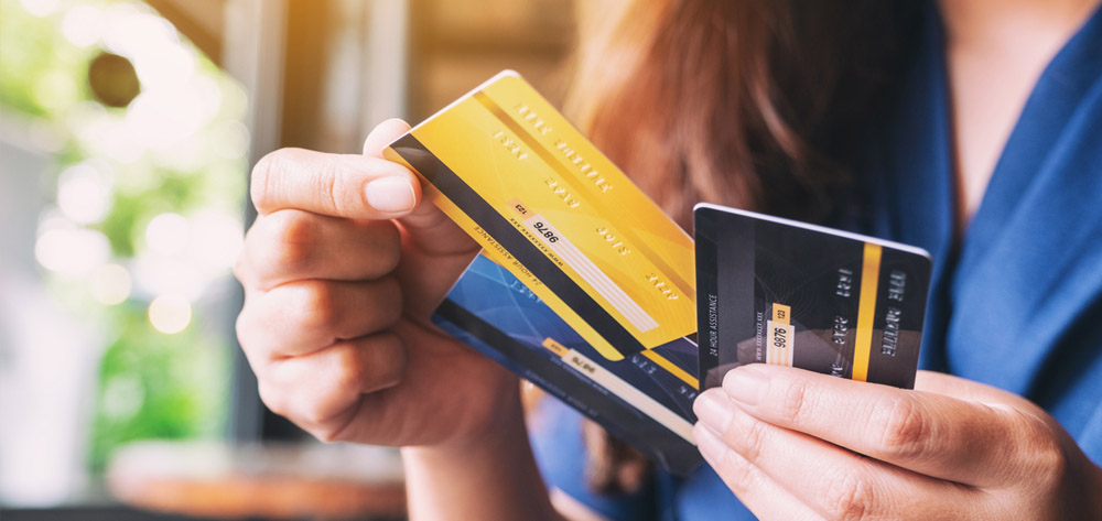 Don't let your credit cards control you
