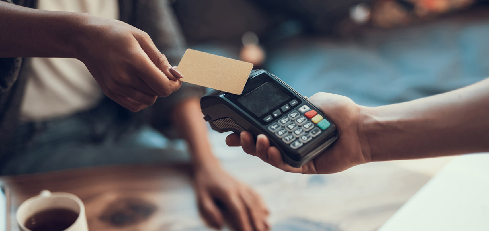 What are the different types of cashless payment methods?
